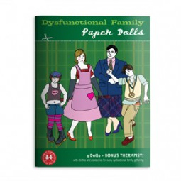 Lynn Chang, The Imagineering Company, Dysfunctional Family, Concerned Paper Dolls, book cover