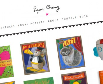Lynn Chang Website Screenshot
