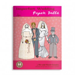 Lynn Chang, The Imagineering Company, Imperfect Wedding, Concerned Paper Dolls, book cover