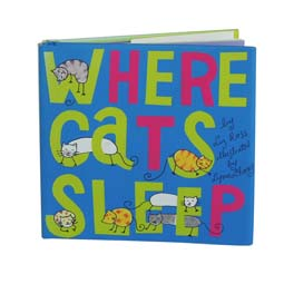 Lynn Chang, Where Cats Sleep Book, illustrated by Lynn Chang, written by Liz Ross