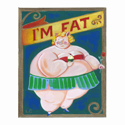 Lynn Chang, Kooky Pottery, I'm Fat Pig